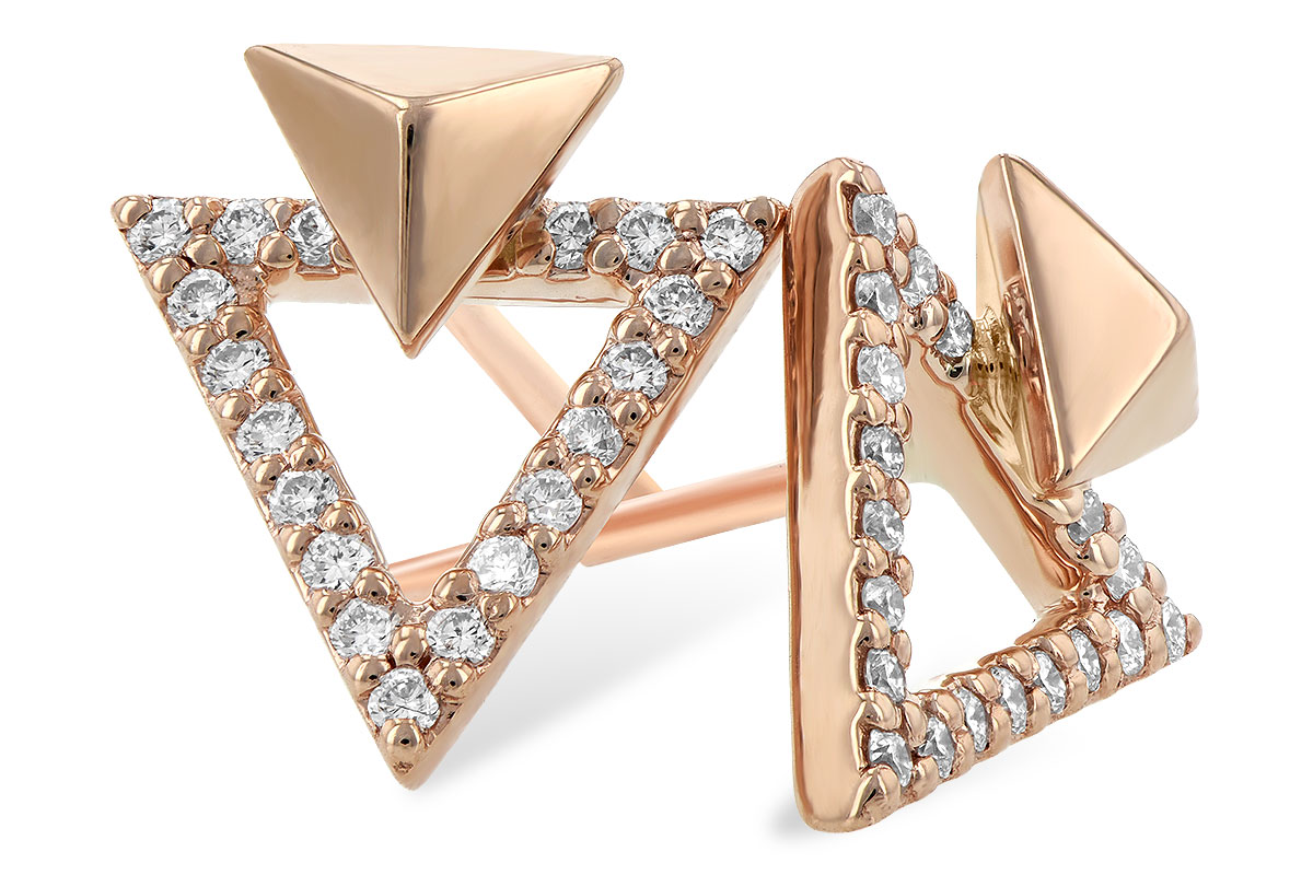 Allison Kaufman - AK_Triangle_Ears.jpg - brand name designer jewelry in Modesto, California