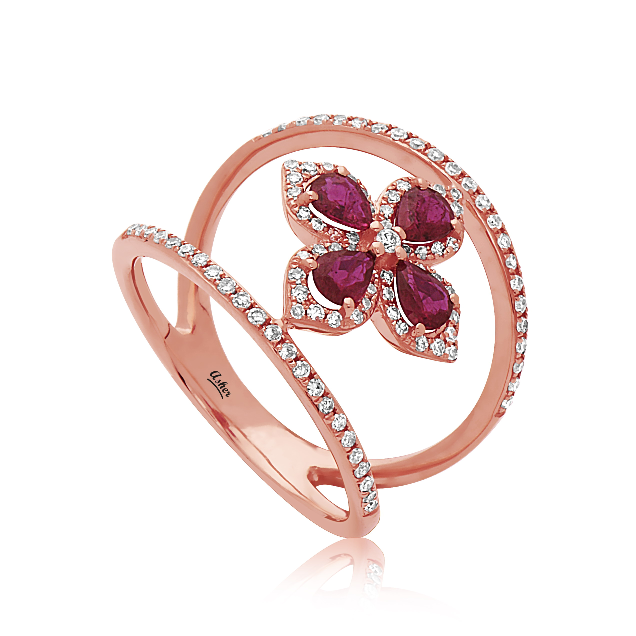 Asher - Asher_Ruby_Ring.jpg - brand name designer jewelry in Modesto, California