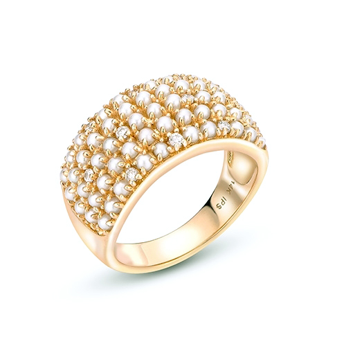 Imperial Pearls - Imperial_Yellow_Ring.jpg - brand name designer jewelry in Modesto, California