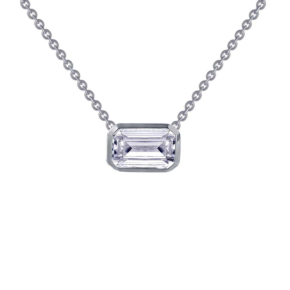 Lafonn Jewelry - Lafonn_Emerald_Cut_Neck.jpg - brand name designer jewelry in Modesto, California