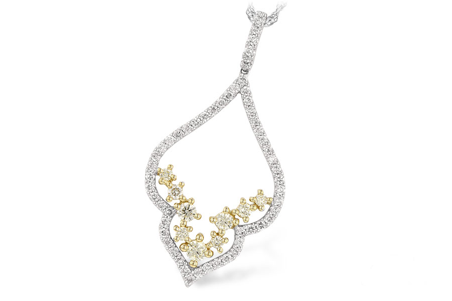 Allison Kaufman - yellowdiamondpendant.jpg - brand name designer jewelry in Modesto, California